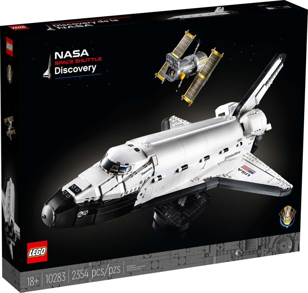 lego 10283 nasa space shuttle discovery