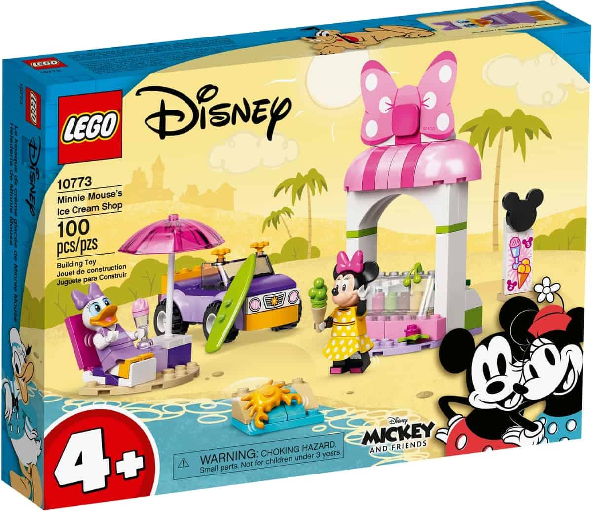 lego 10773 minnie mouses ice cream shop