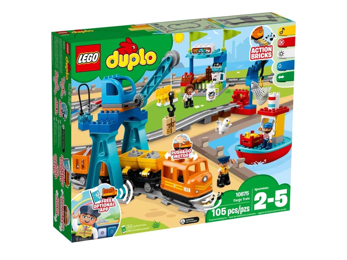lego 10875 cargo train