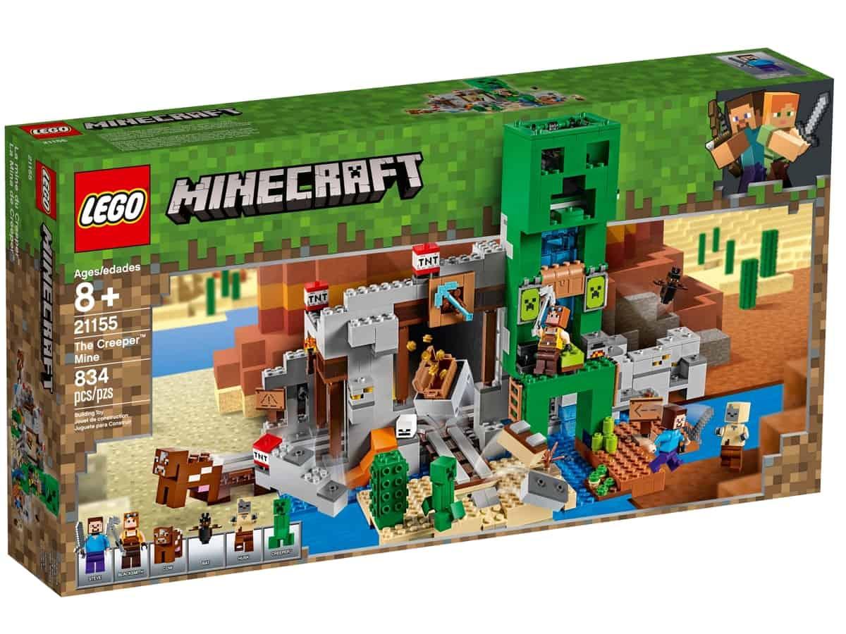 lego 21155 the creeper mine