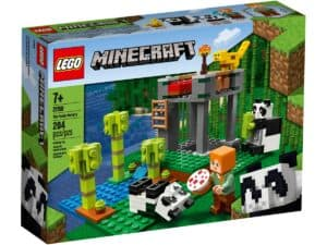 lego 21158 the panda nursery