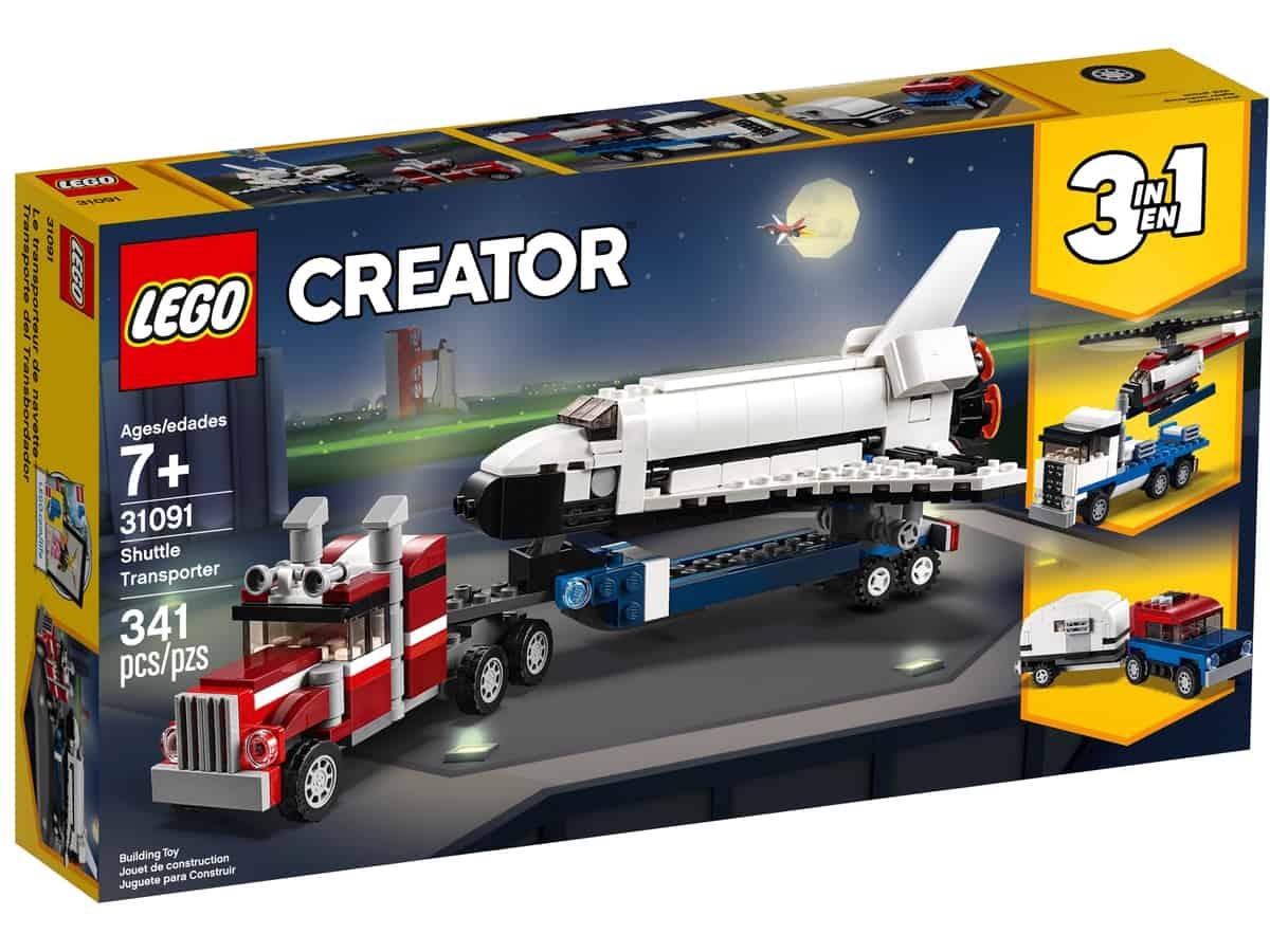 lego 31091 shuttle transporter
