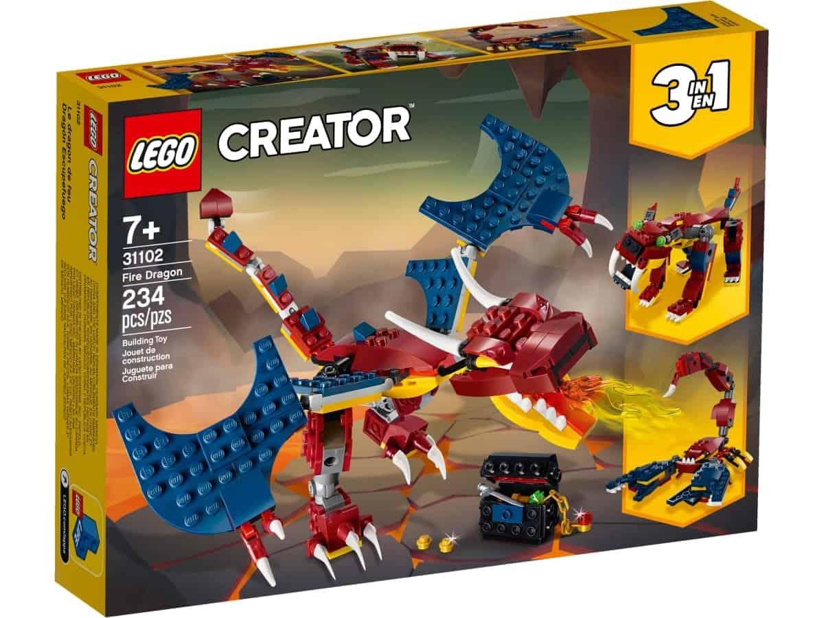 lego 31102 fire dragon