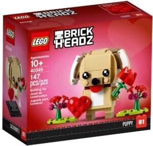 lego 40349 valentines puppy