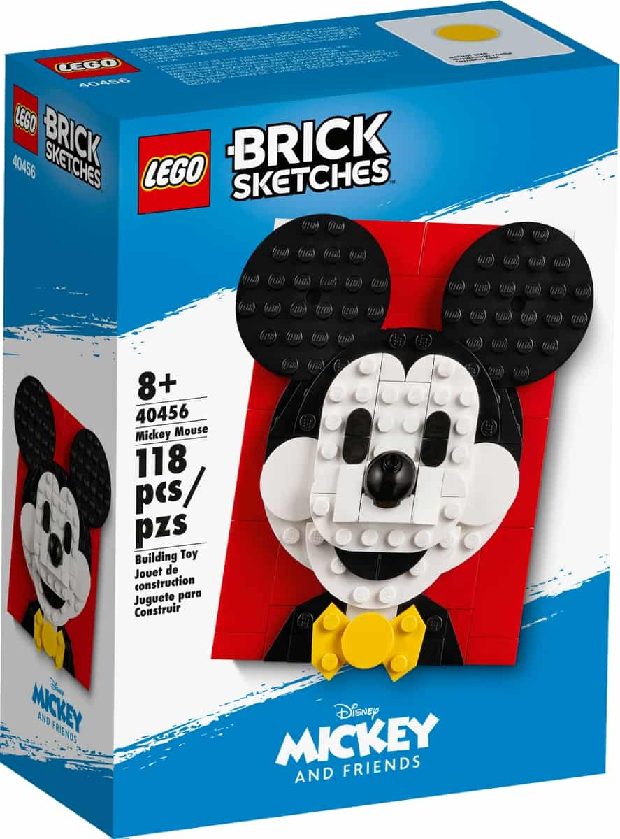 lego 40456 mickey mouse