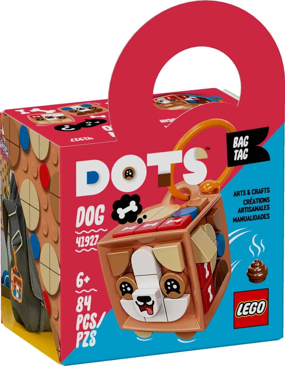 lego 41927 bag tag dog