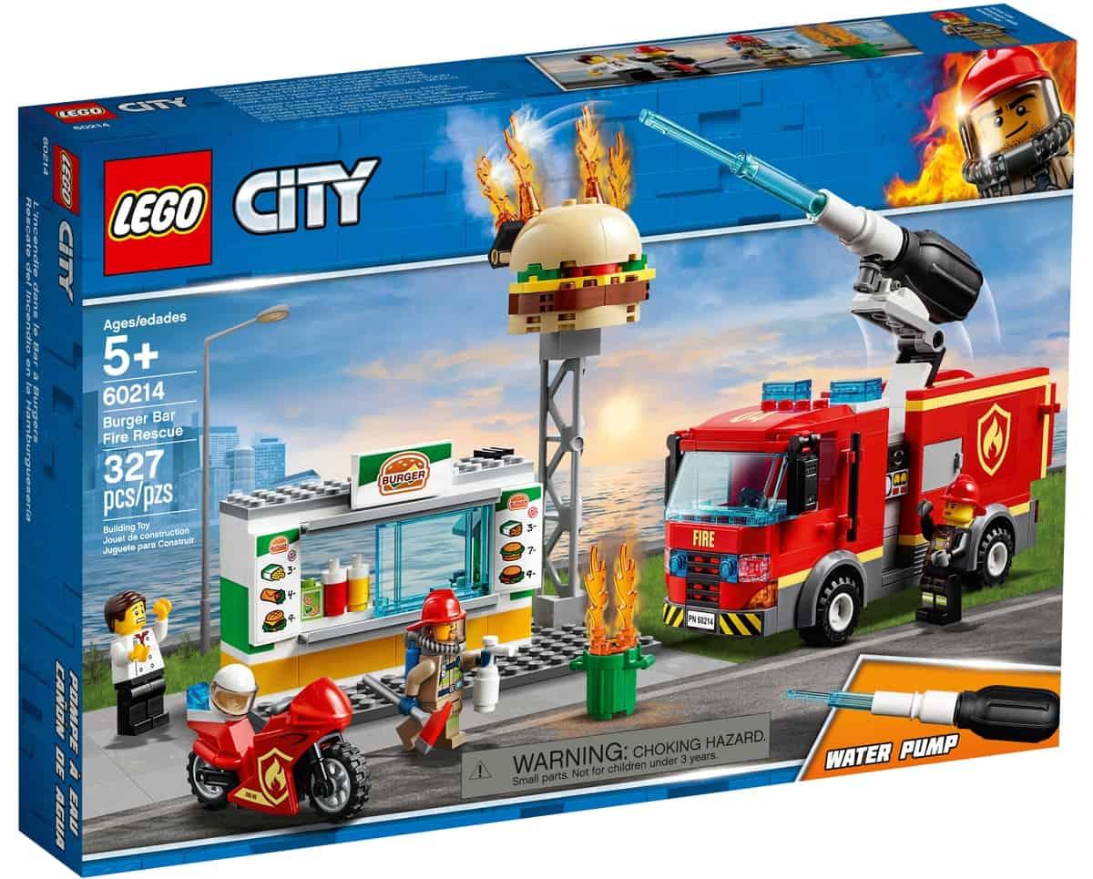 lego 60214 burger bar fire rescue