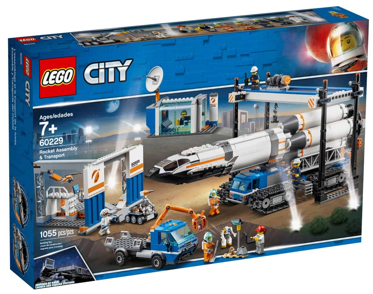 lego 60229 rocket assembly transport
