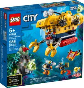 lego 60264 ocean exploration submarine