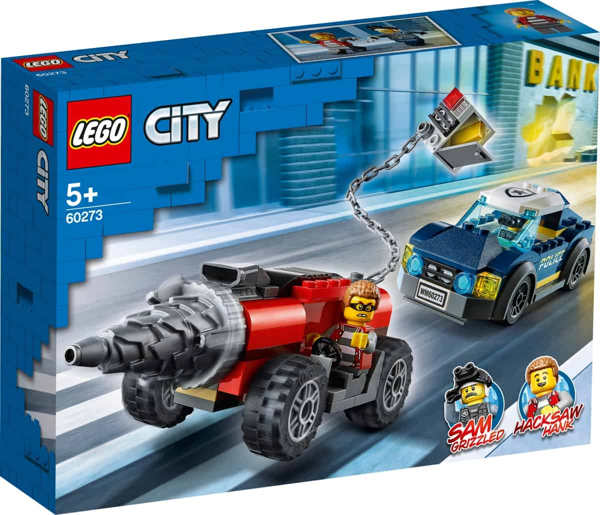 lego 60273 police driller chase