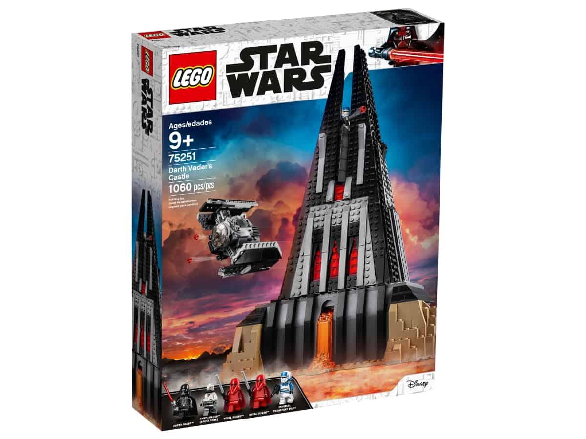 lego 75251 darth vaders castle