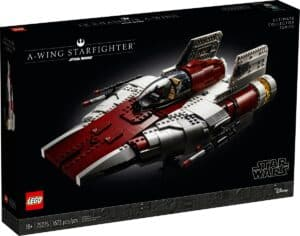 lego 75275 a wing starfighter