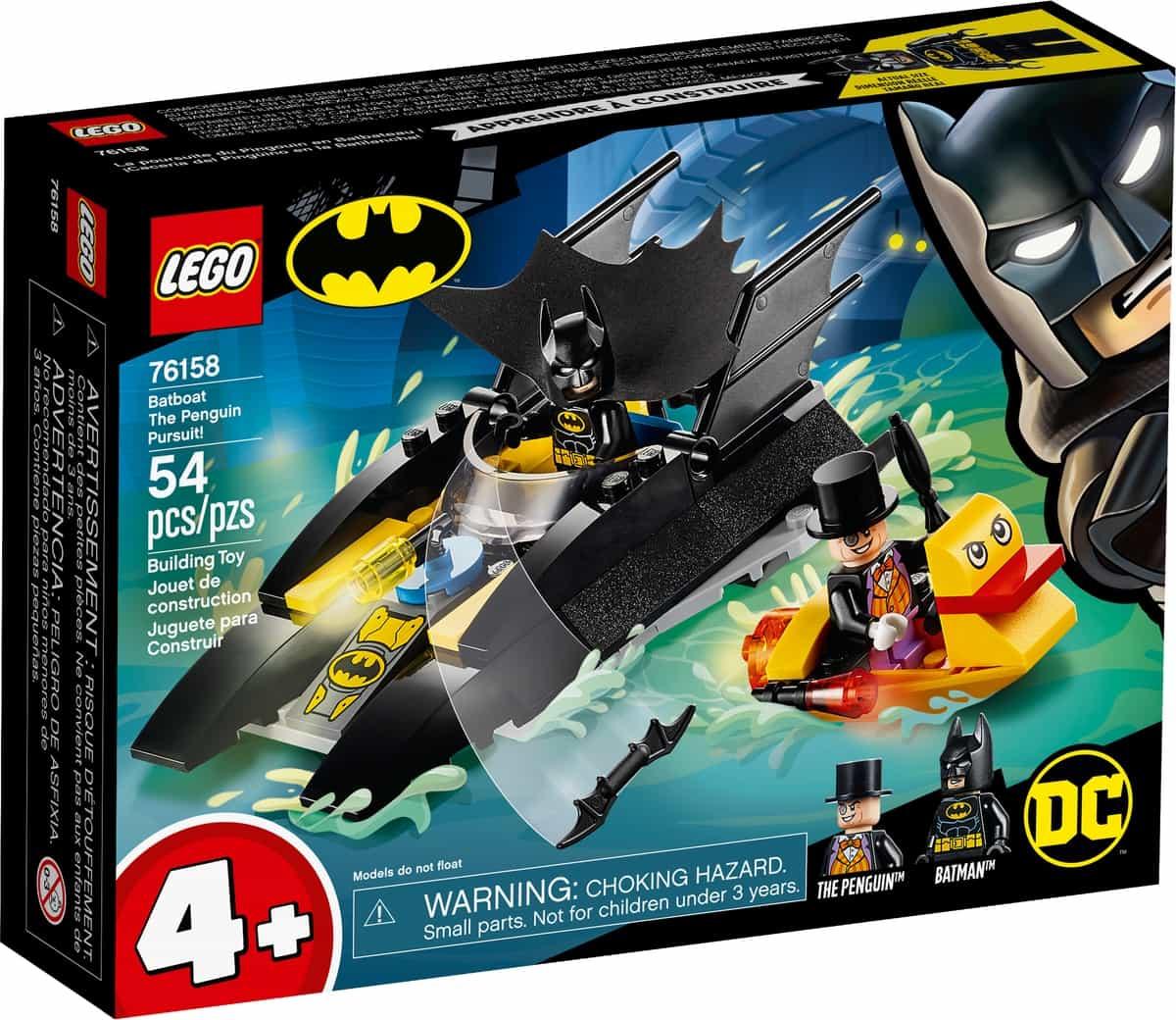 lego 76158 batboat the penguin pursuit