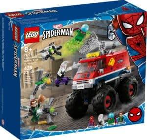 lego 76174 spider mans monster truck vs mysterio