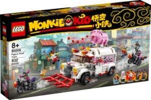lego 80009 pigsys food truck