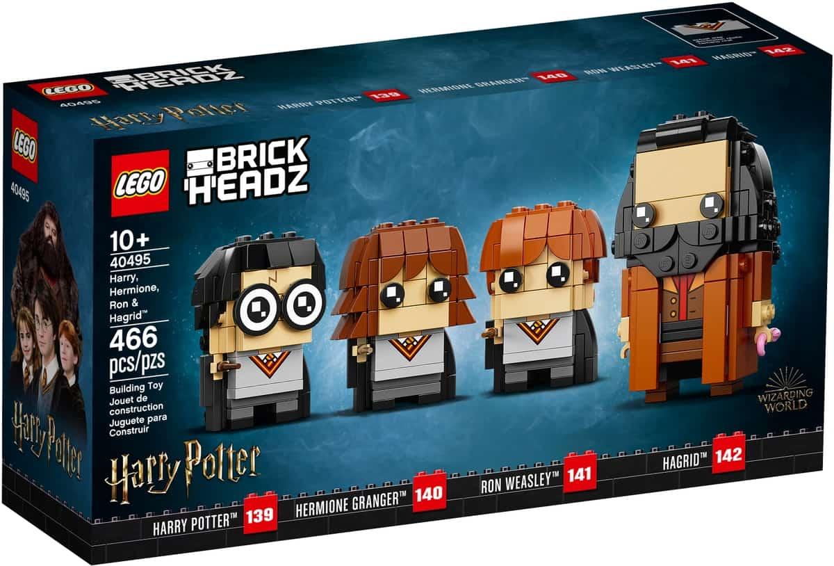 lego 40495 harry hermione ron hagrid