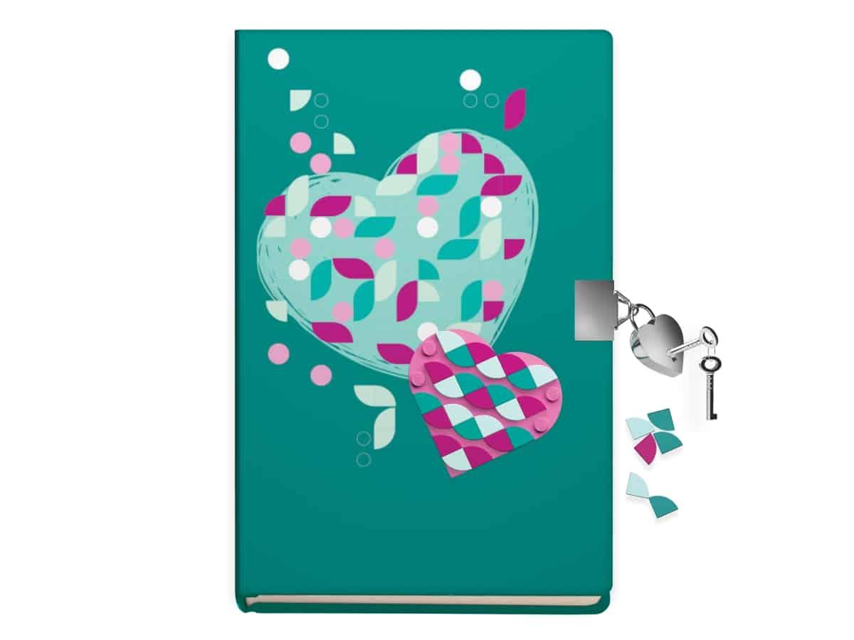lego 5006272 secret diary with lock