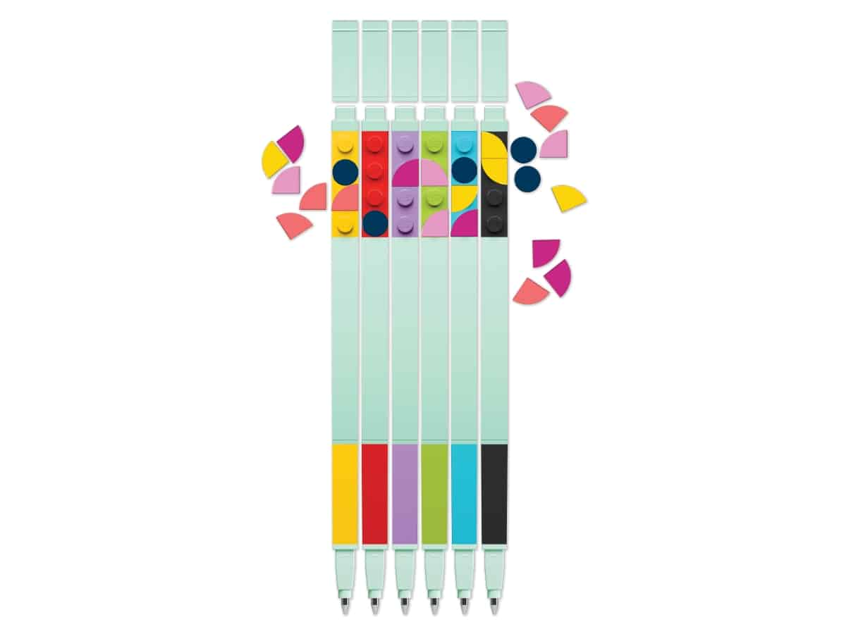 lego 5006275 gel pen 6 pack