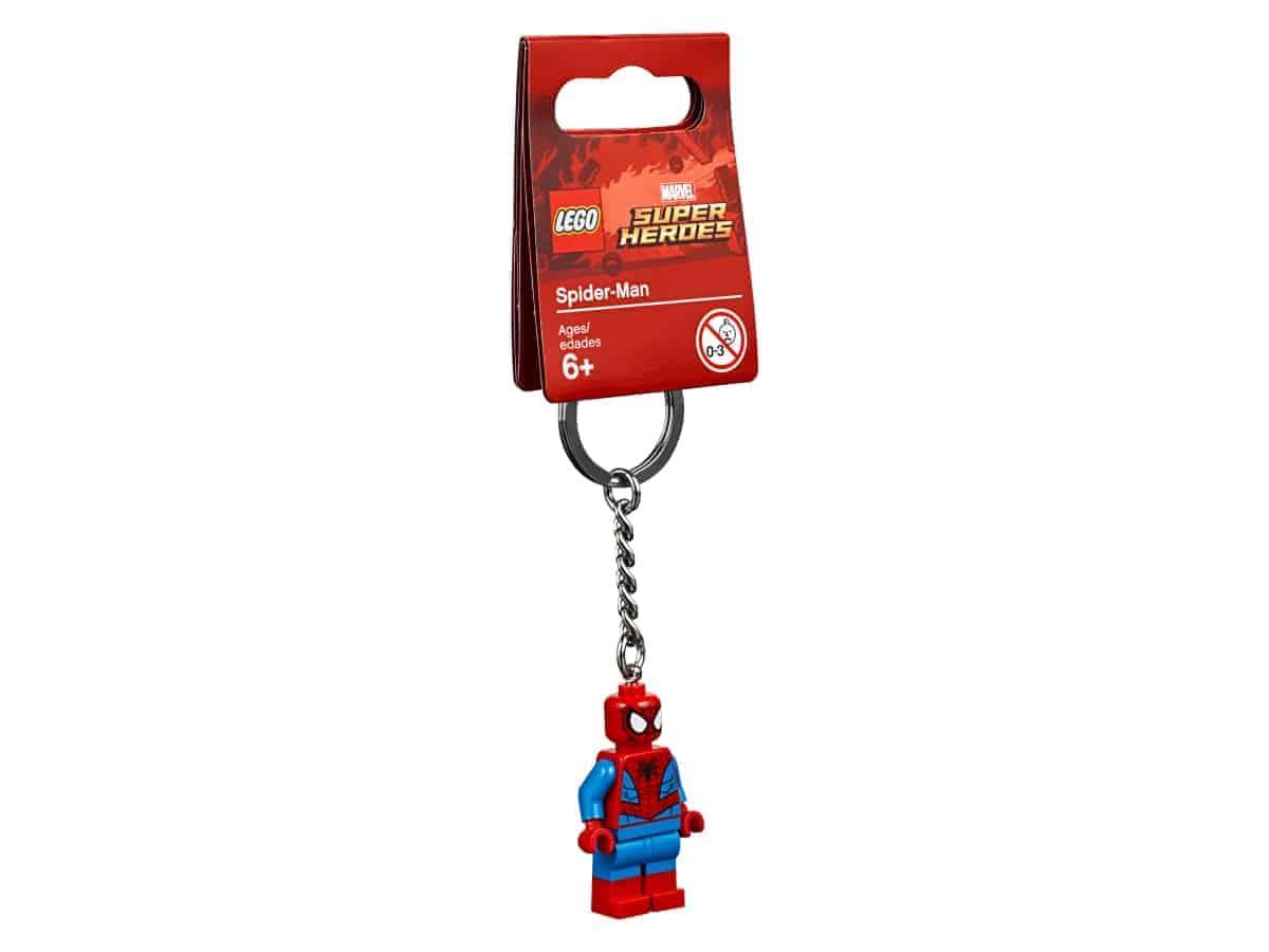 lego 853950 spider man key chain