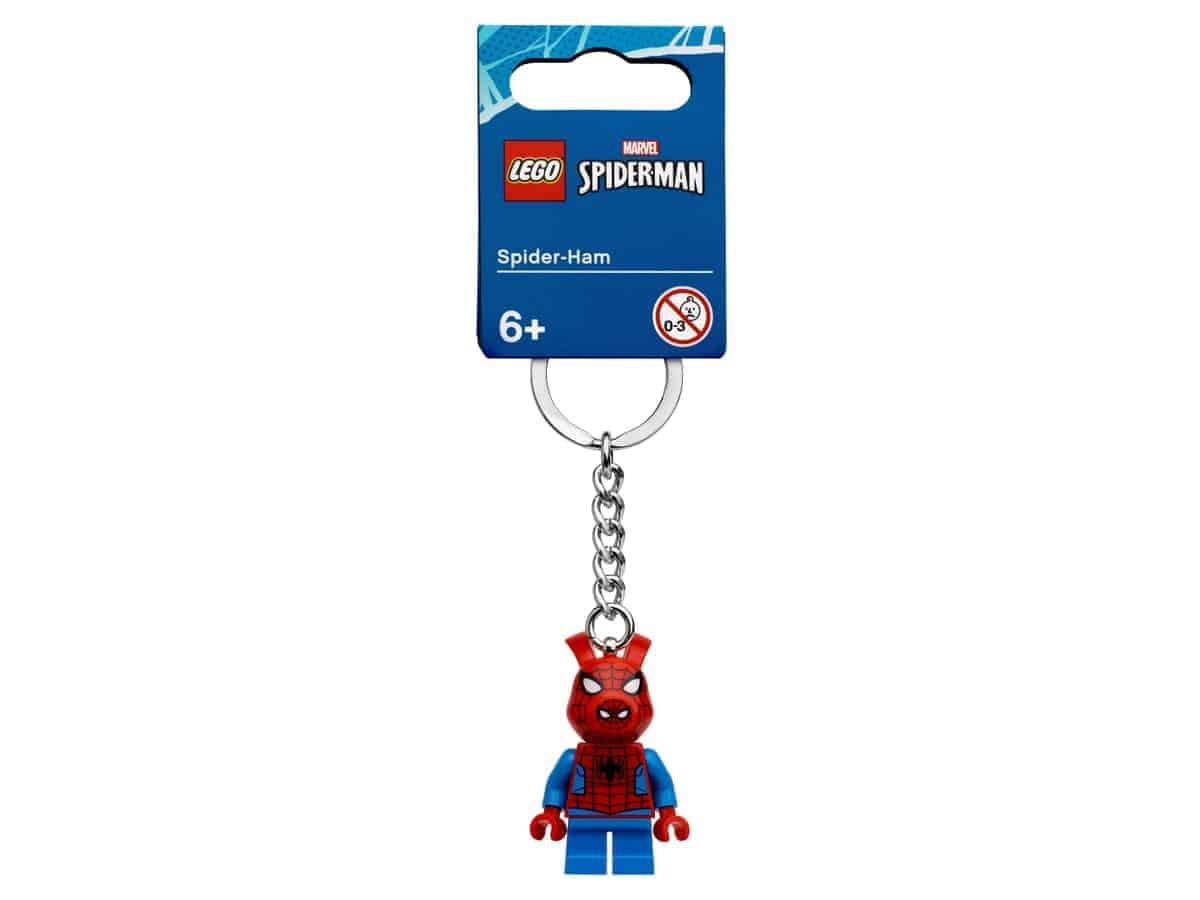 lego 854077 spider ham key chain