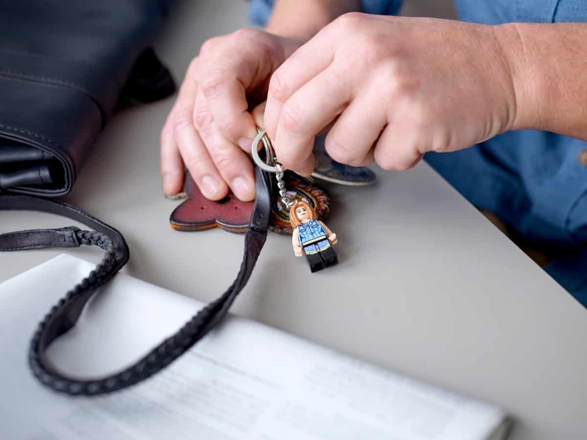 lego 854120 rachel key chain