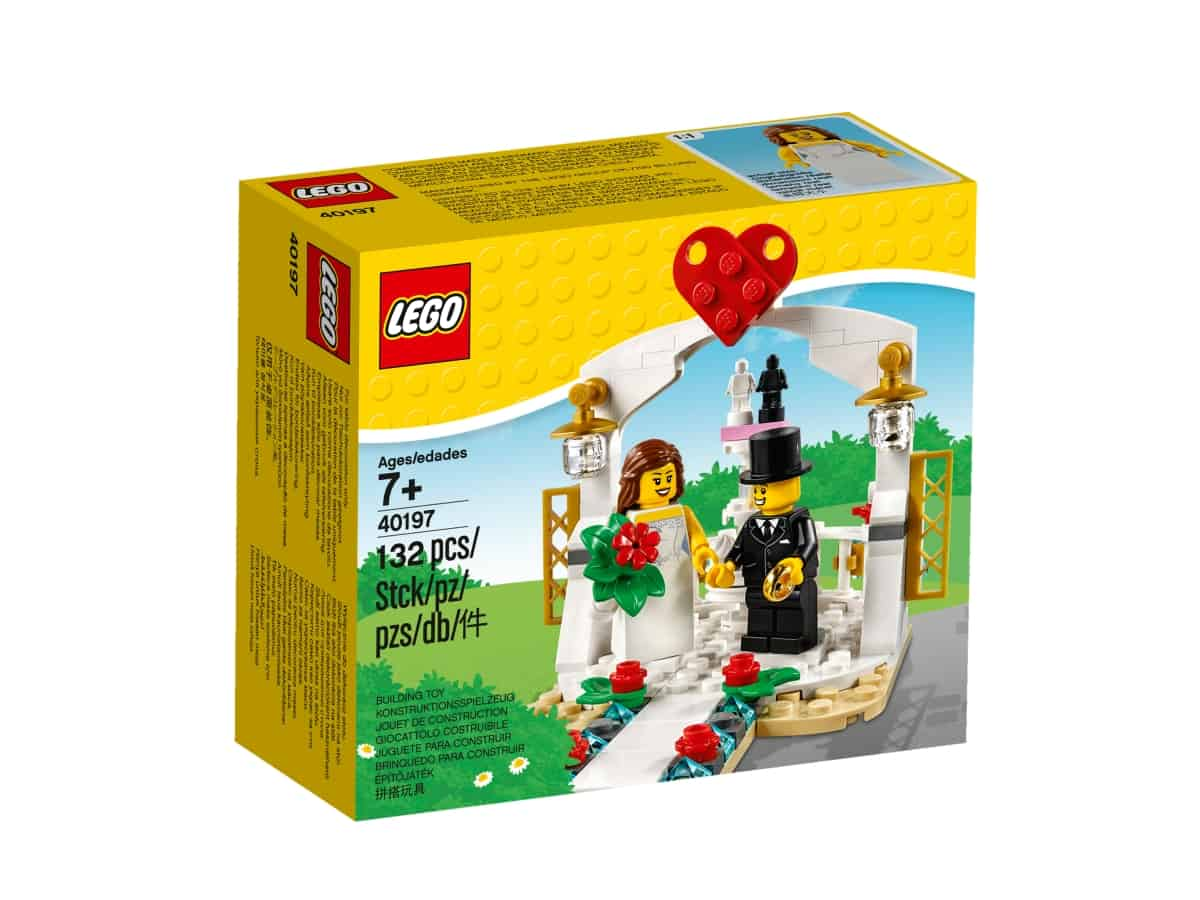 lego 40197 wedding favor set 2018