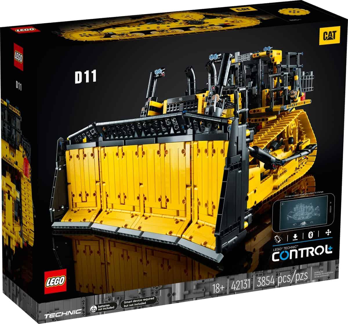 LEGO 42131 App-Controlled Cat D11Bulldozer