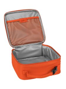 lego 5005516 brick lunch bag orange