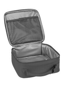 lego 5005518 brick lunch bag gray