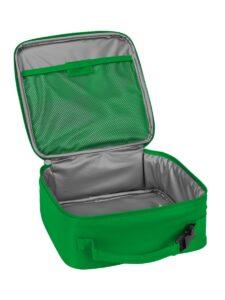 lego 5005519 brick lunch bag green