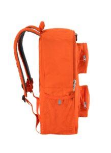 lego 5005521 brick backpack orange