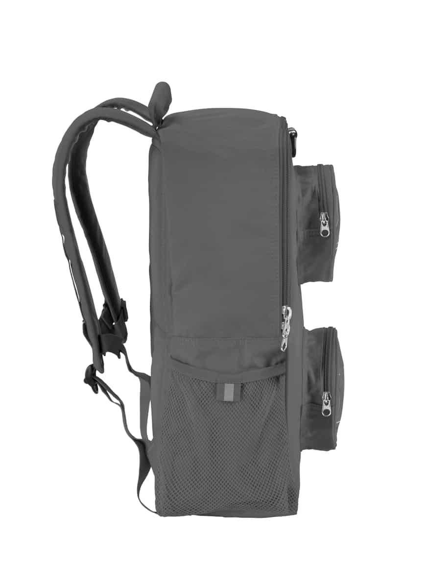 lego 5005524 brick backpack gray