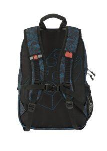 lego 5005526 blue print heritage classic backpack