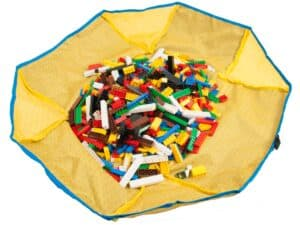 lego 5005538 iconic 4 piece organizer tote and playmat