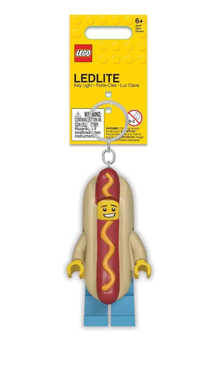 lego 5005705 hot dog guy key light