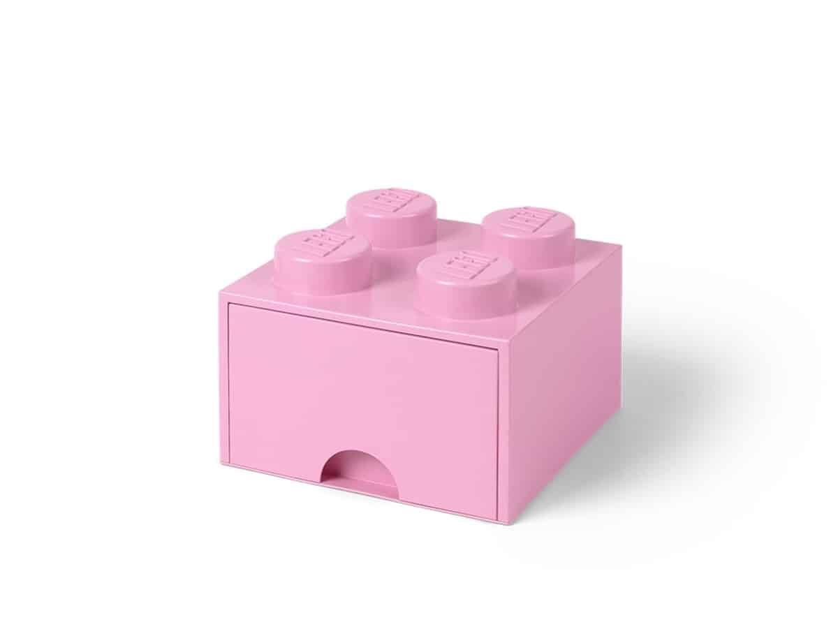 lego 5005712 4 stud light purple storage brick drawer