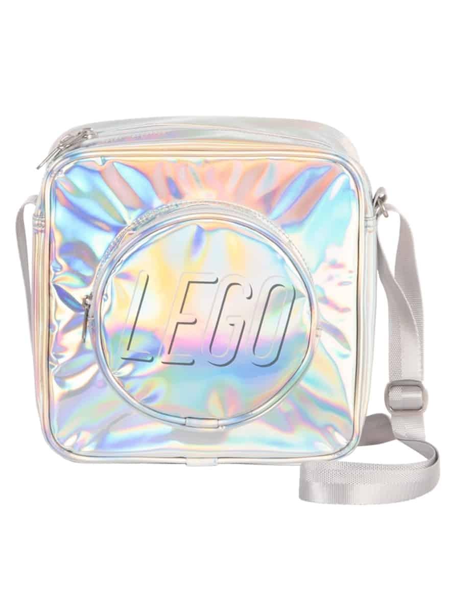 lego 5005810 holographic brick crossbody bag