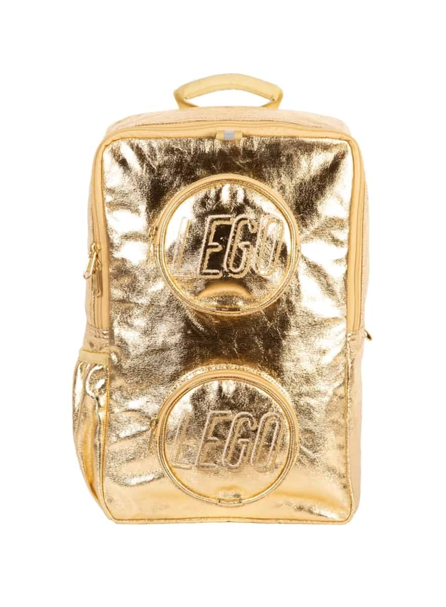 lego 5005814 gold metallic brick backpack