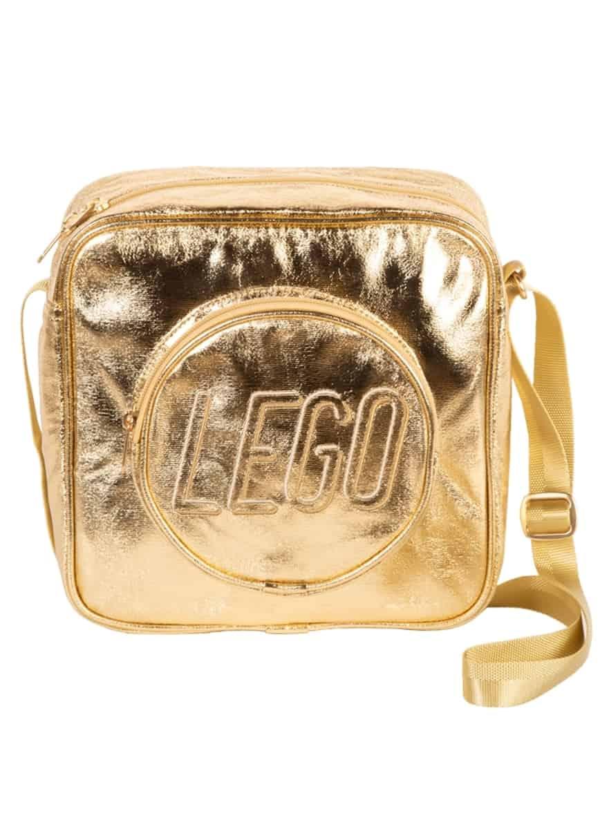 lego 5005816 gold brick crossbody bag