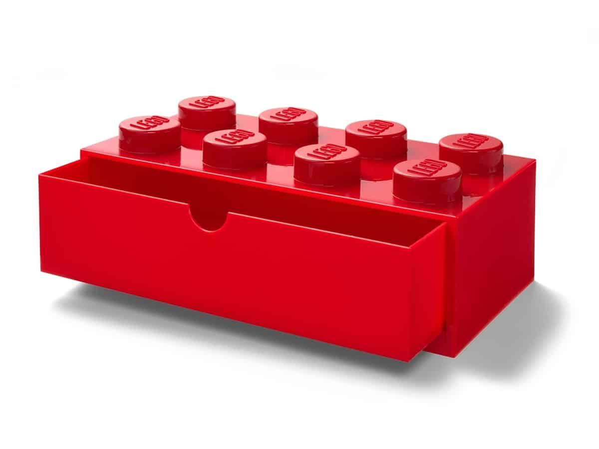 lego 5005871 8 stud red desk drawer