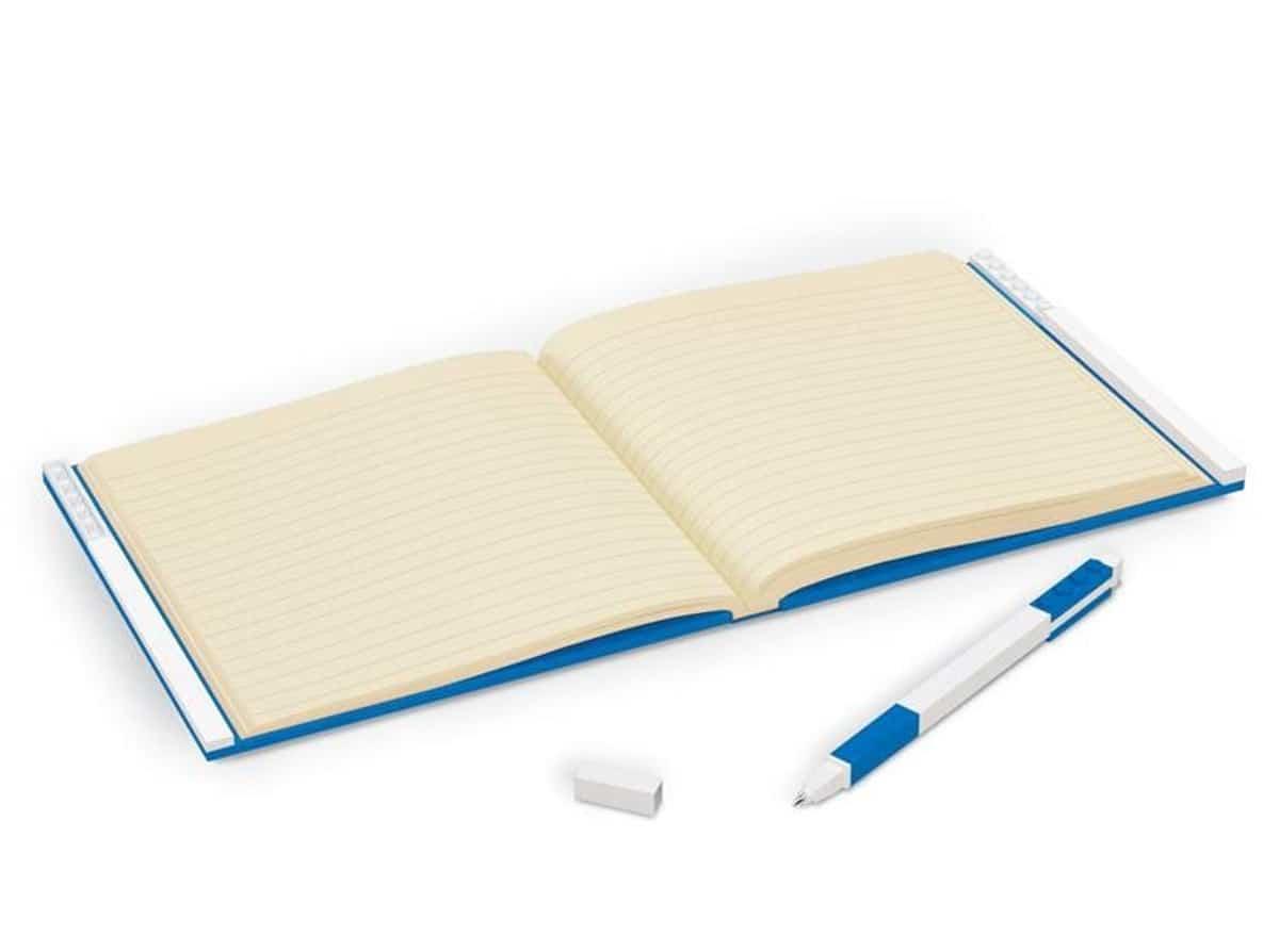 lego 5006057 locking notebook with gel pen