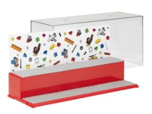 lego 5006156 play and display case red
