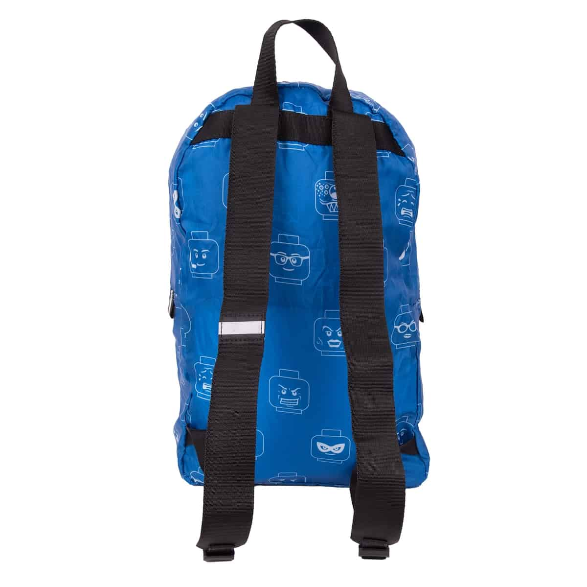 lego 5006360 minifigure packable patch backpack