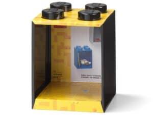lego 5006619 brick shelf 4 knobs black