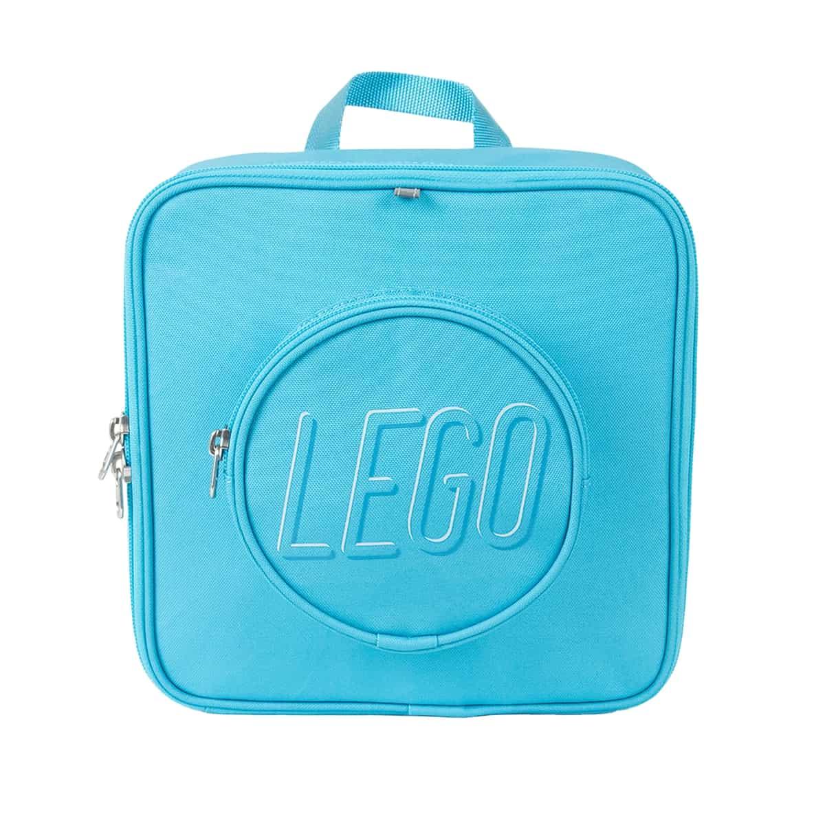 lego 5006489 medium azur small brick backpack