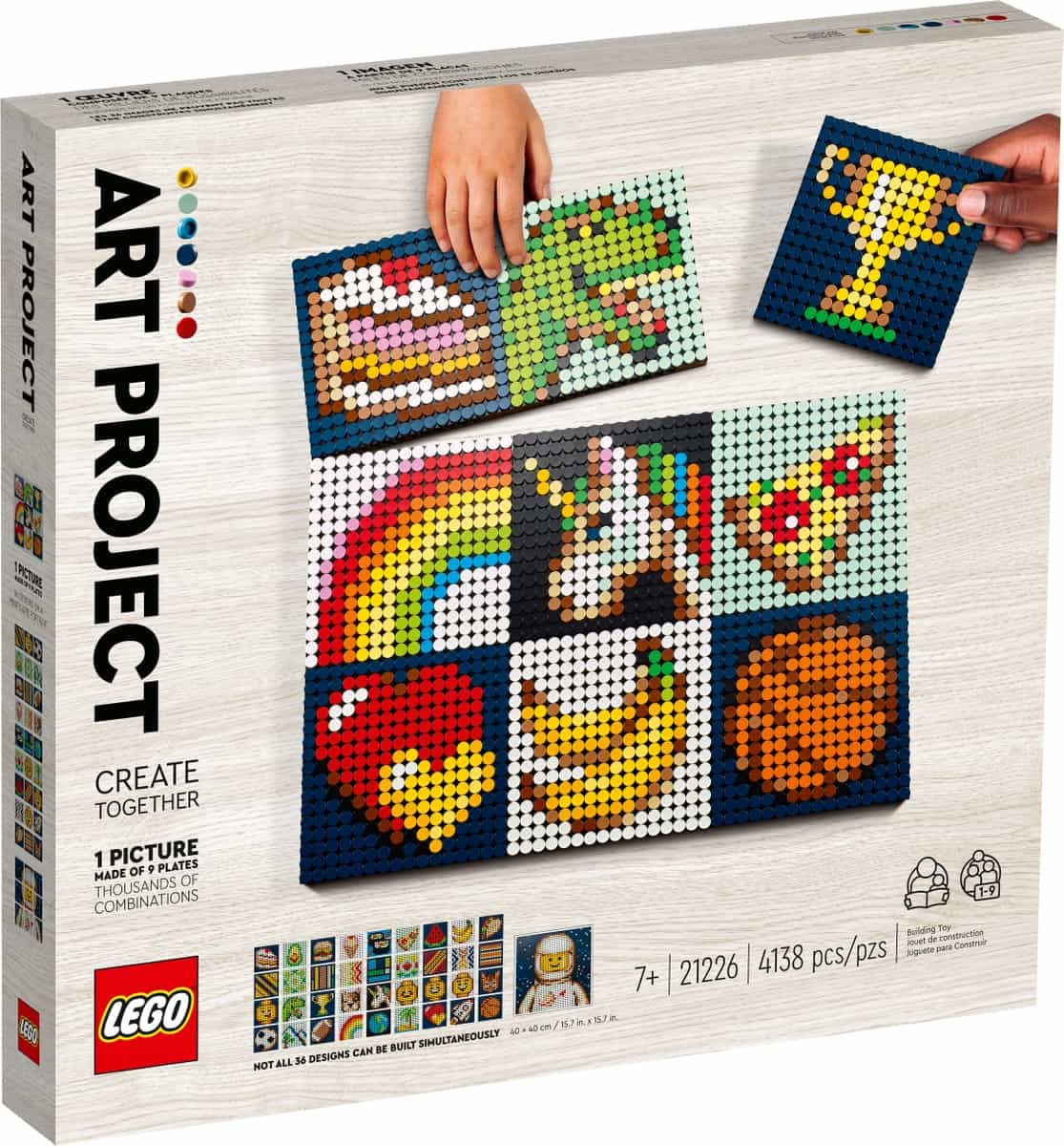 lego 21226 art project create together